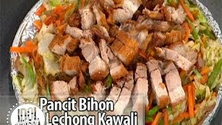 Idol sa Kusina: How to cook Pancit Bihon with Lechong Kawali