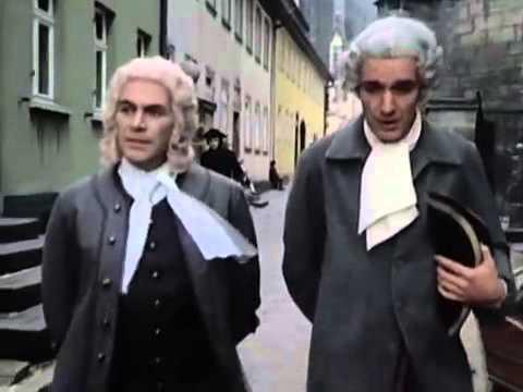 "Johann Sebastian Bach   Film in 4 Folgen. 1 Teil ""Die Herausforderung"""