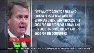 Fox  'EU trade deal should be easiest in history'