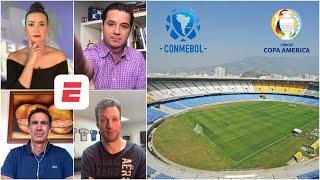 La CONMEBOL mueve la COPA AMÉRICA de Argentina a Brasil. ¿Buena solución? ¿Incoherente?   Exclusivos