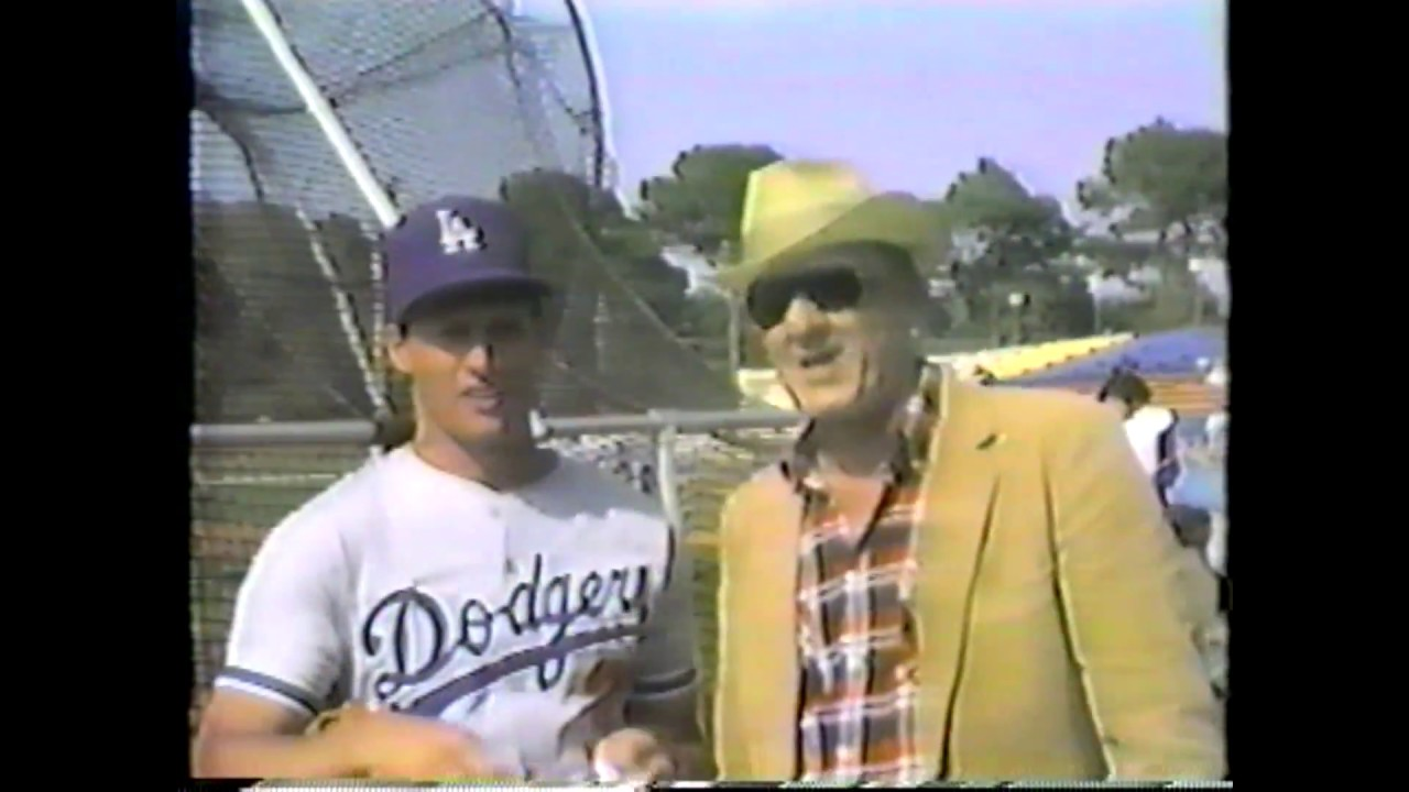 Al Ryan in Dodgertown - February 1986