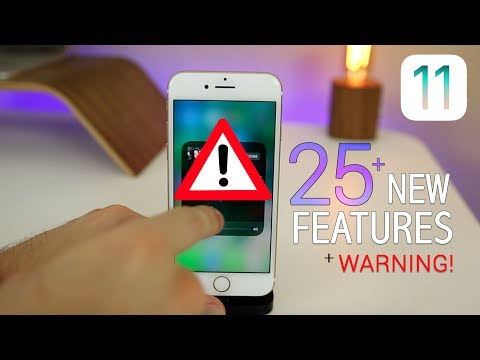 iOS 11 Beta 2  - 25+ NEW Features & Changes + BIG Warning!