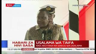 Rais Uhuru Kenyatta akutana na wakuu wapya wa usalama Mombasa