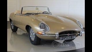 Jaguar E-Type Series I Roadster 1965 -VIDEO- www.ERclassics.com