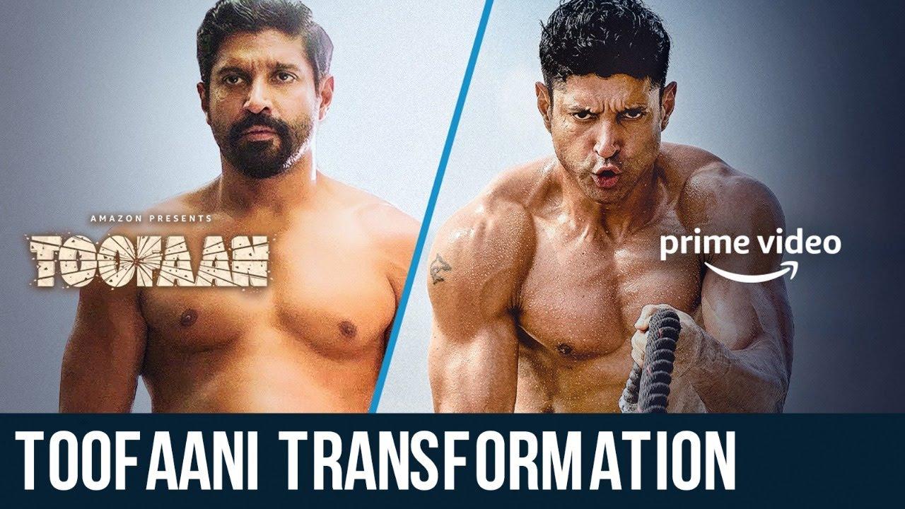 Toofaani Transformation   Farhan Akhtar   Drew Neal   Samir Jaura   Anand Kumar