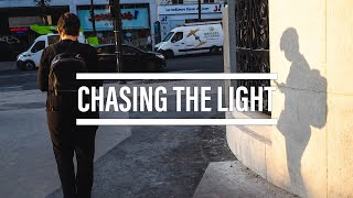 Chasing the light | Paris Street Photography POV | RICOH GR III