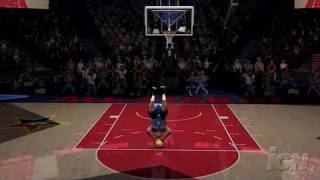 NBA Live 07 Xbox 360 Gameplay - Slam Dunk Contest