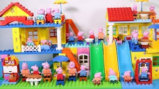 Peppa Pig Lego House Creations Toys - Lego House With Water Slide Toys For Kids #9