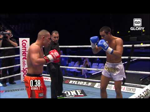 GLORY 3 Rome - Robin van Roosmalen vs. Sanny Dahlbeck (Full Video)