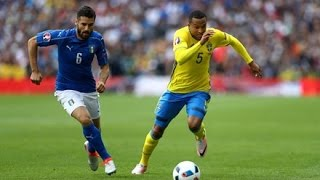 Italy vs Sweden (1 - 0) EURO 2016  All Goals & Full Match Highlights HD