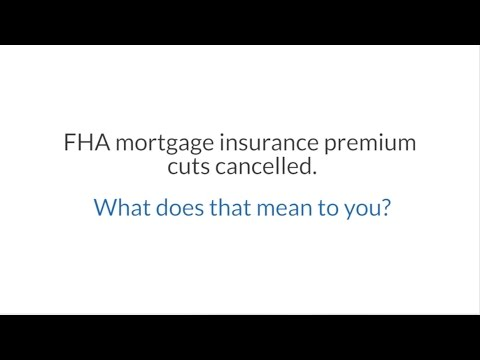 fha-mortgage-insurance-premium-cut