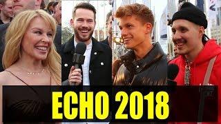 ECHO 2018: Kylie Minogue, Revolverheld, Kontra K, RIN, ConCrafter