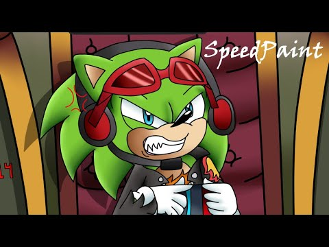 SpeedPaint ~ Scourge's Gamer Rage! (Art Commission For Therealm14)
