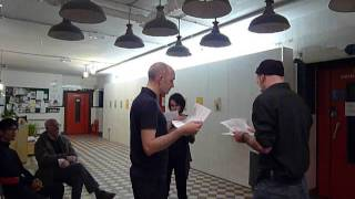 Performance at Govanhill Baths for Magdalen Chua