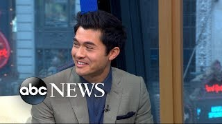 'Crazy Rich Asians' star Henry Golding dishes on Blake Lively and Anna Kendrick