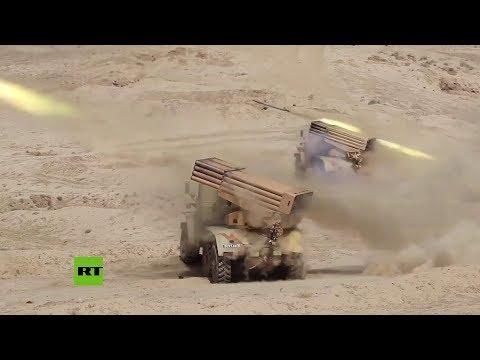 Rusia y Tayikistán realizan prácticas militares en las maniobras Tsentr 2019