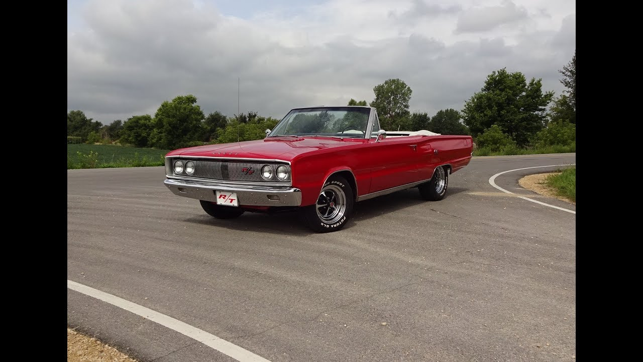 1967 Dodge Coronet R T Rt Convertible In Red 440 Engine Sound On 1949 Charger My Car Story With Lou Costabile