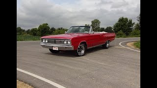 1967 Dodge Coronet R/T RT Convertible in Red & 440 Engine Sound on My Car Story with Lou Costabile