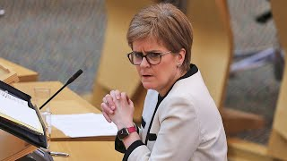 video: Politics latest news: Budget will push one in six adults into higher tax band by 2025, says IFS - watch Nicola Sturgeon live