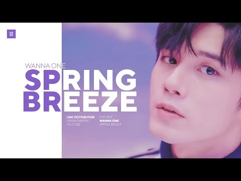 WANNA ONE - SPRING BREEZE Line Distribution (Color Coded) | 워너원 - 봄바람