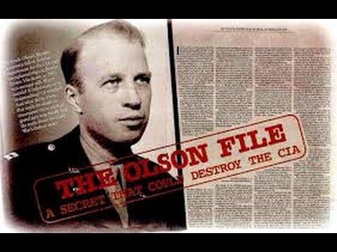 Les énigmes de l'histoire Frank Olson et la CIA