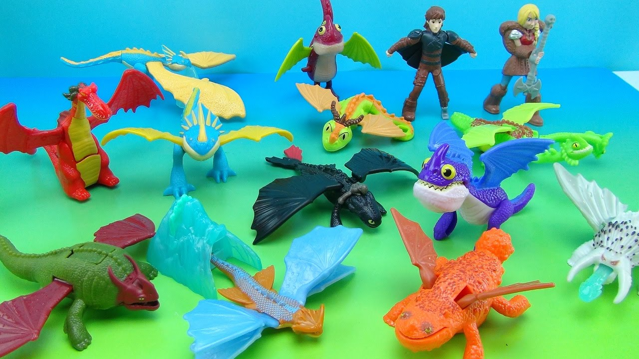 Fast Food Cereal Sweet Toys Various Mcdonalds Happy Meal Toy 2014 How To Train Your Dragon 2 Plastic Toys Toys Games Fast Food Cereal Sweet Toys