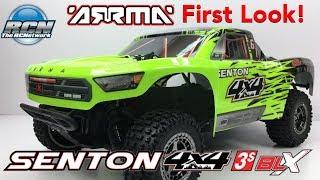 Arrma Senton 4x4 3S BLX ShortCourse Truck - First Look