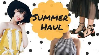 Summer Clothing Haul | SheIn, Chuu, Romwe and more!