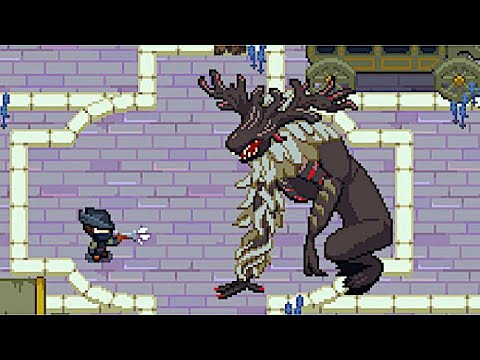 Yarntown - Bloodborne Remade as a Zelda-like Action RPG with Cleric Beast & Father Gascoigne Fights!