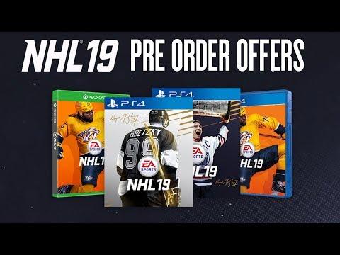 NHL 19 PRE ORDER OFFERS REVEALED | INSANE HUT REWARDS!