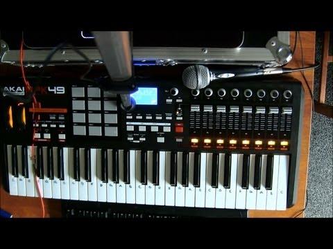 Sierra Leone - Live Multi-Instrument Cover With AKAI MP49 Professional