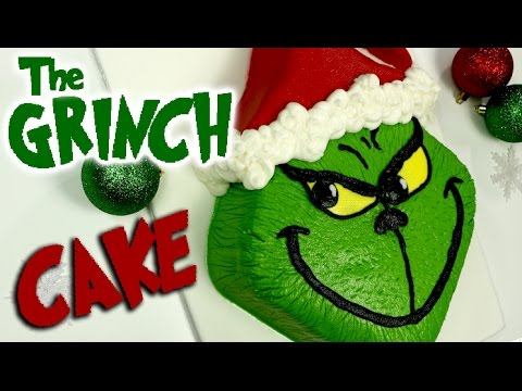 The GRINCH CAKE that stole Christmas!