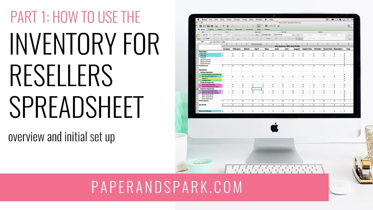 1 how to use the inventory for resellers spreadsheet
