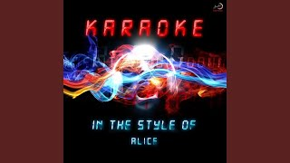 Una Notte Speciale (In the Style of Alice) (Karaoke Version)