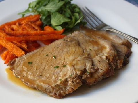 Slow Cooker Cider Braised Pork Roast Recipe