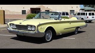 1960 Ford Sunliner Convertible in Yosemite Yellow Paint on My Car Story with Lou Costabile