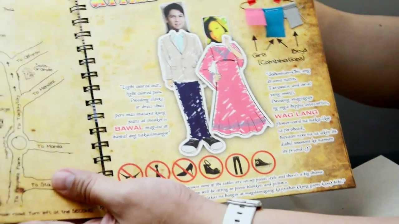 Formal Attire On Wedding Invitation: Jolina & Mark Wedding Invitation Pages