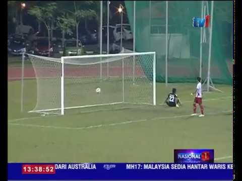 KUALA LUMPUR MARA KALAHKAN MOF FC [28 FEB 2015]