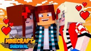 Minecraft Survival #29 - ENCONTREI A NAMORADA PERFEITA !!