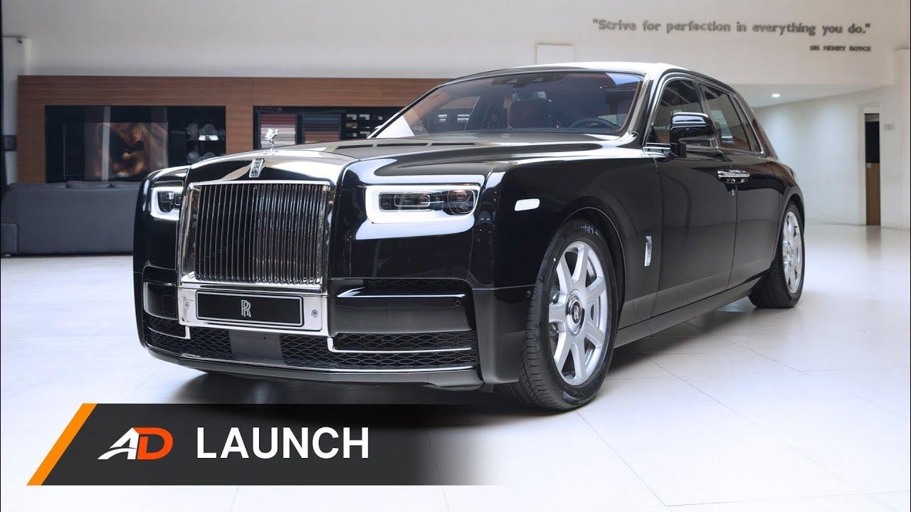 The 2019 Rolls-Royce Phantom Launch - YouTube