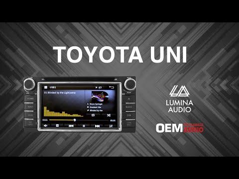 OEM Audio NZ Toyota Lumina media unit. Mirror link, GPS, reverse camera