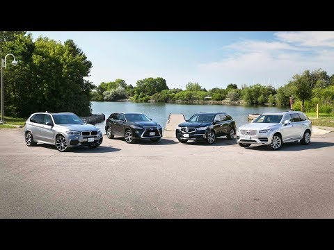 2018 Luxury Midsize 3-Row SUV Comparison: Acura MDX vs Volvo XC90 vs BMW X5 vs Lexus RX 350L