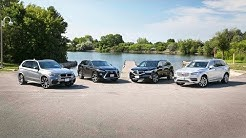 2018 Luxury Midsize 3-Row SUV Comparison: Acura MDX vs Volvo XC90 vs BMW X5 vs Lexus RX 350L