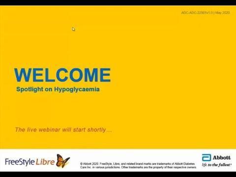 FreeStyle Webinar: Spotlight on Hypoglycaemia