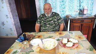 Закуска к обеденному столу с хрустящим хлебушком вкусной начинкой мой рецепт вкусного обеда сегодня
