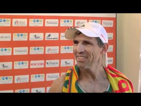 Jorge Costa (POR) after 50K Race Walking, Senior Men