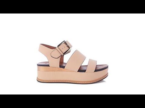 fa1c636d3621 Naturalizer Billie Buckled Platform Sandal - YouTube