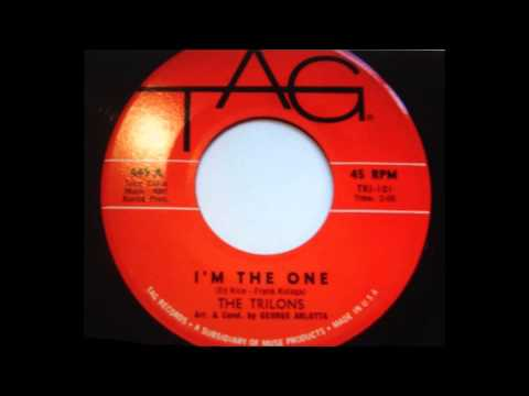The Trilons ...  I'm the one.   1962. Mp3