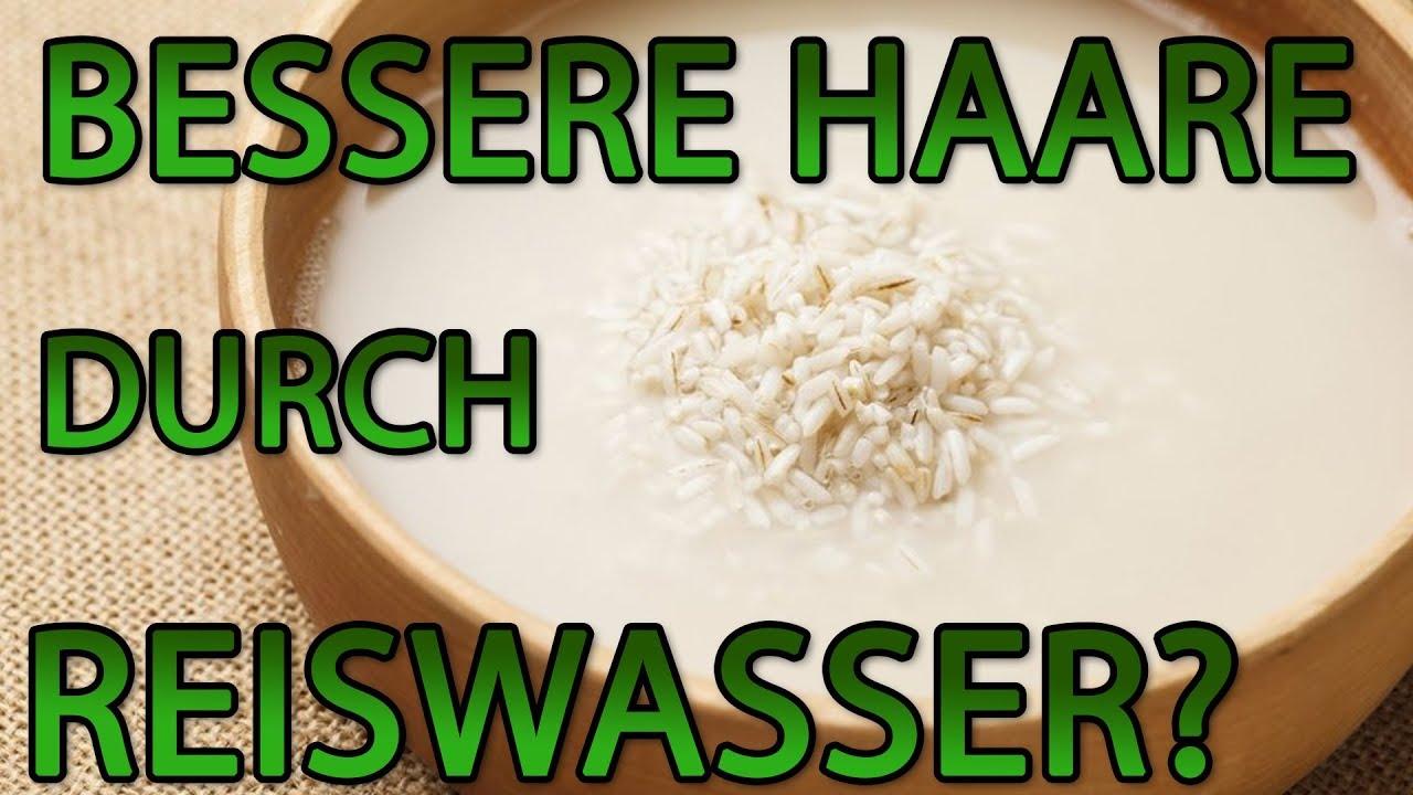 Reiswasser Haare