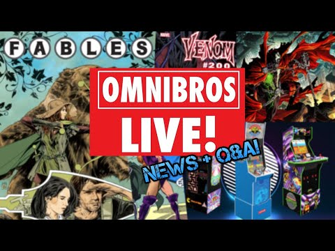 SUNDAY NEWS: Fables Returns!, Venom 200, New Arcade1up Cabs! from The Omnibus Collectors Network